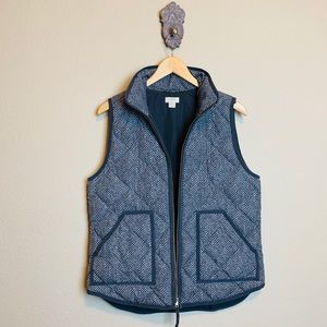 Used, J. Crew gray puffer vest for sale